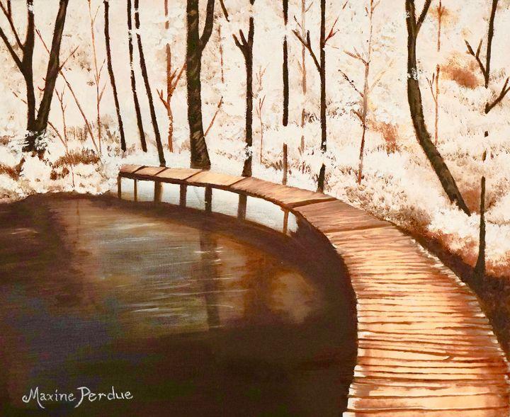 The Wandering Bridge - Maxine Perdue
