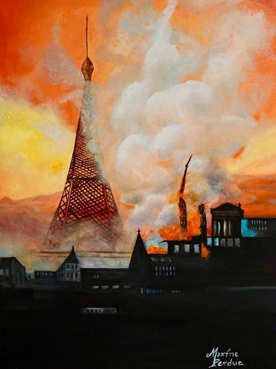 The Burning - Maxine Perdue