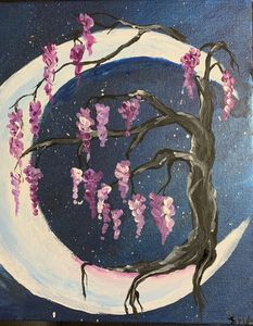 Cherry Tree & The Moon