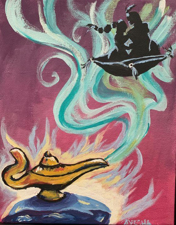 Aladdin - Ayesha's Art