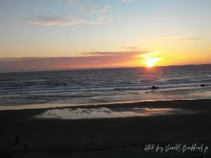 Sunset at the Beach - Donald Bankhead Productions