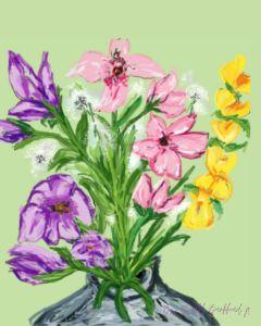Flowers are wonderful