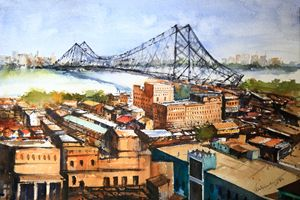 Kolkata Top View