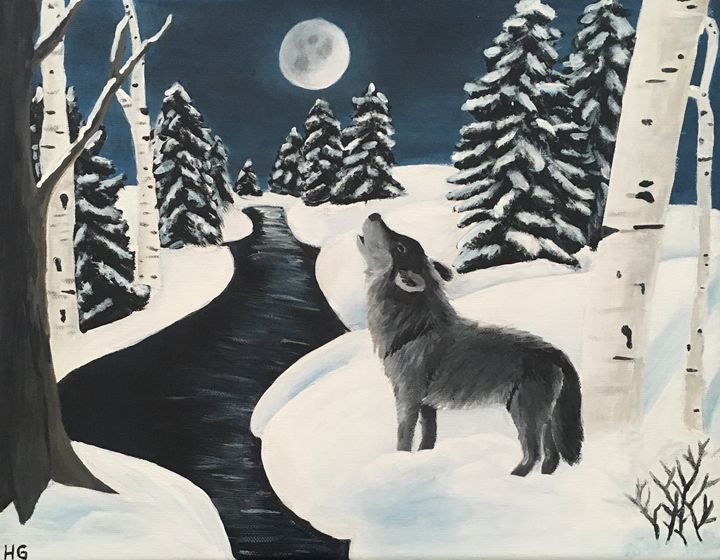 Winter Night - HG Art