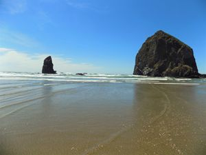 Haystack Rock & The Needles