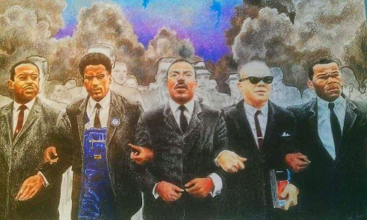 Solidarity - Art by Reggie Chandler