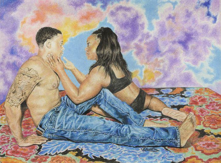 In Heavenly Places - Art by Reggie Chandler