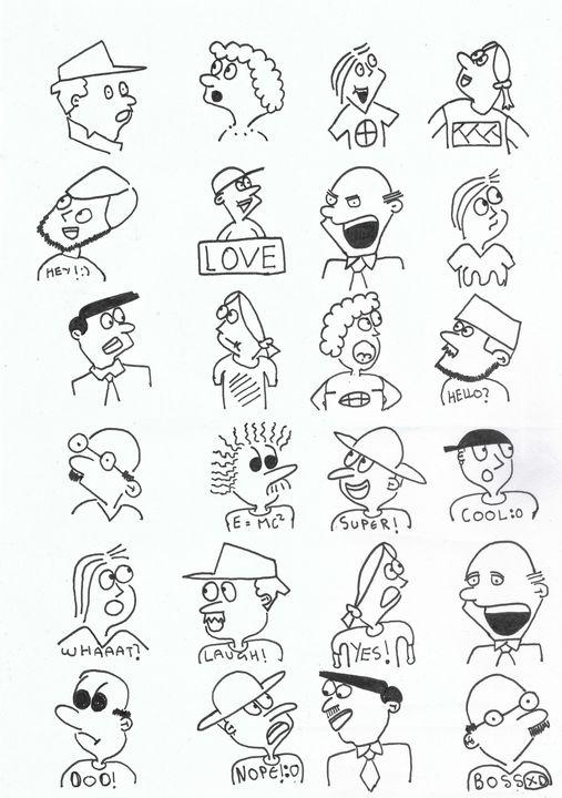 Doodle People - Doodles!