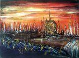 Original Sci Fi Painting