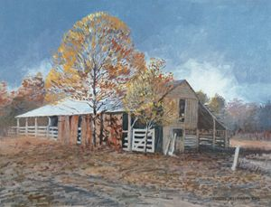 Old Barn - East Texas | Texas Art