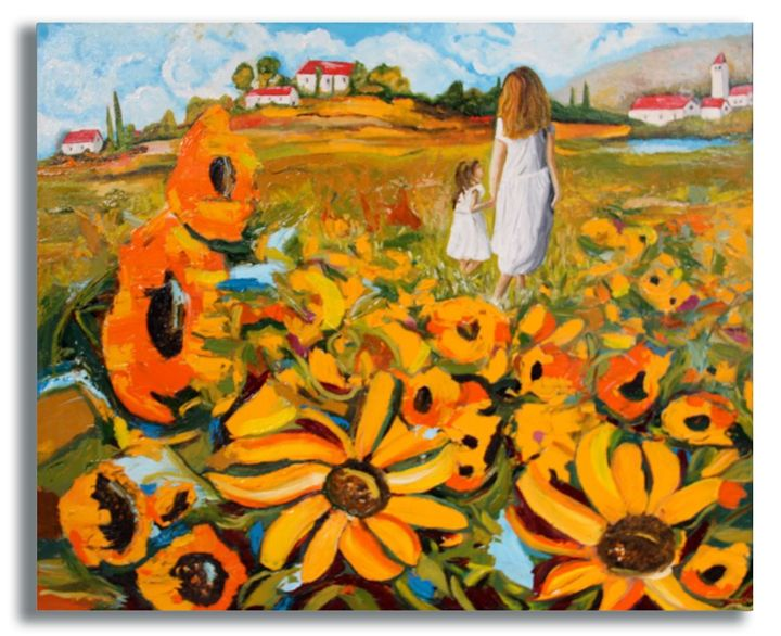 Sunflowers-1 - CDamianos