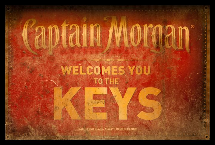 Captain Morgan Welcome To The Keys - John Stephens