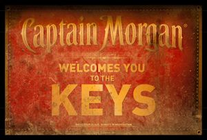 Captain Morgan Welcome To The Keys