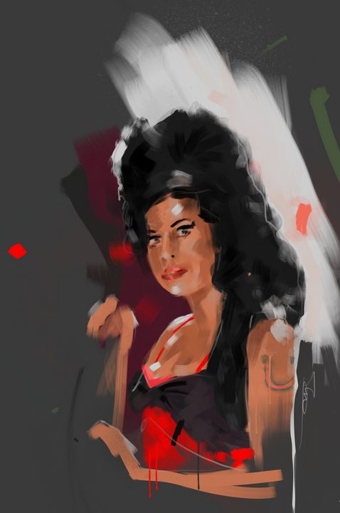 Amy Winehouse - IrnStu art