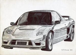 1992 Acura NSX Widebody - Justin Philbrick