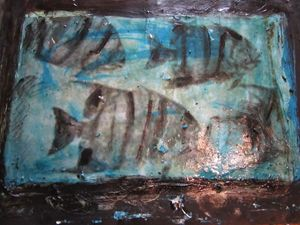 Angel Fish hand made original art