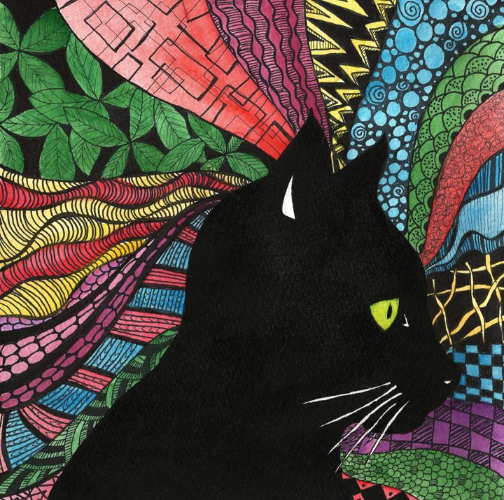 Black Cat - The Art Habit