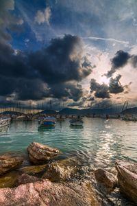 Lerici gulf. Italy.