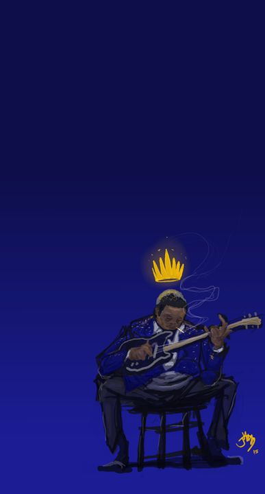 The Blues King - JAM Sketch