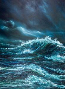 Seascape 'Uisge Gorm', North Sea #1