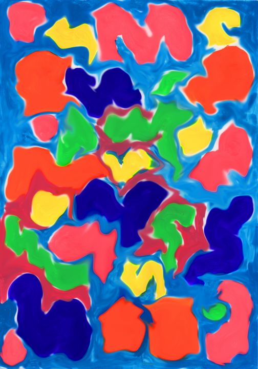 abstract colored spots - Radomir