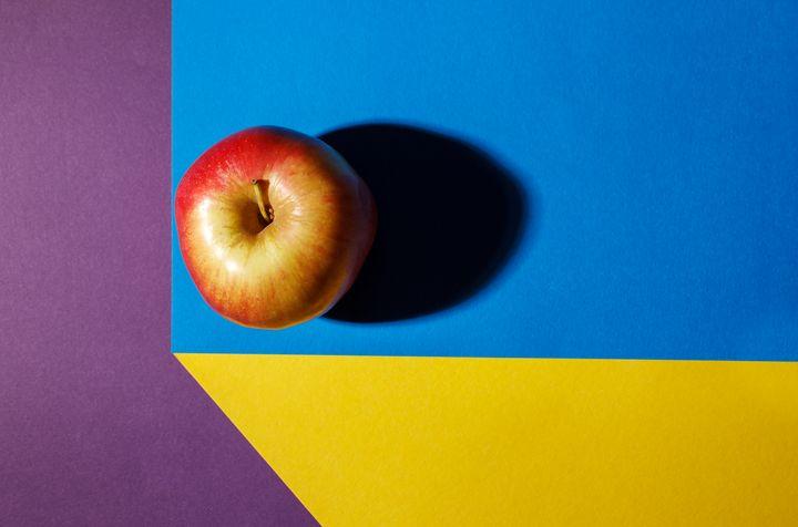 red apple on the table - Radomir