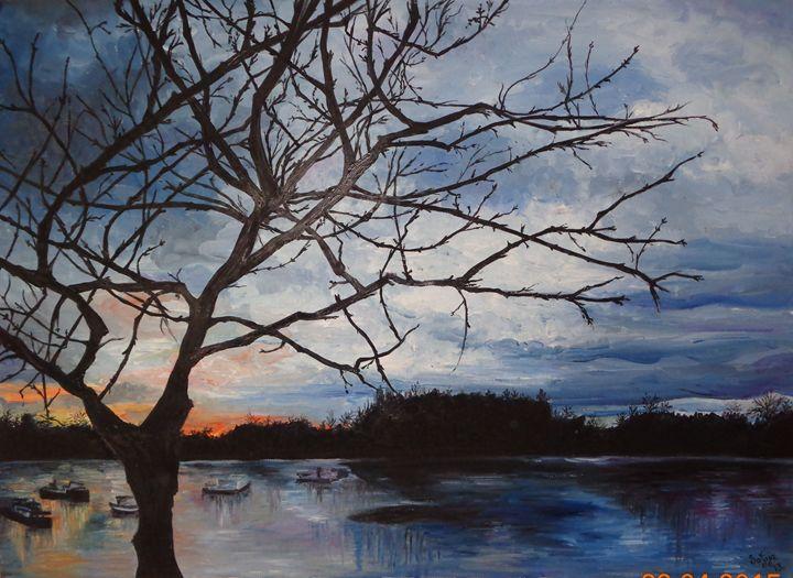 Sunset by the River - Sofija