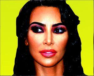 Kim Kardashian - tarama art