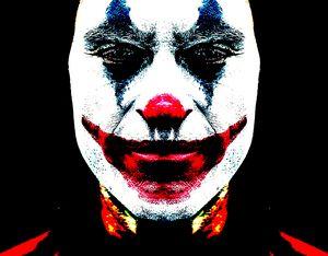 joker skin face
