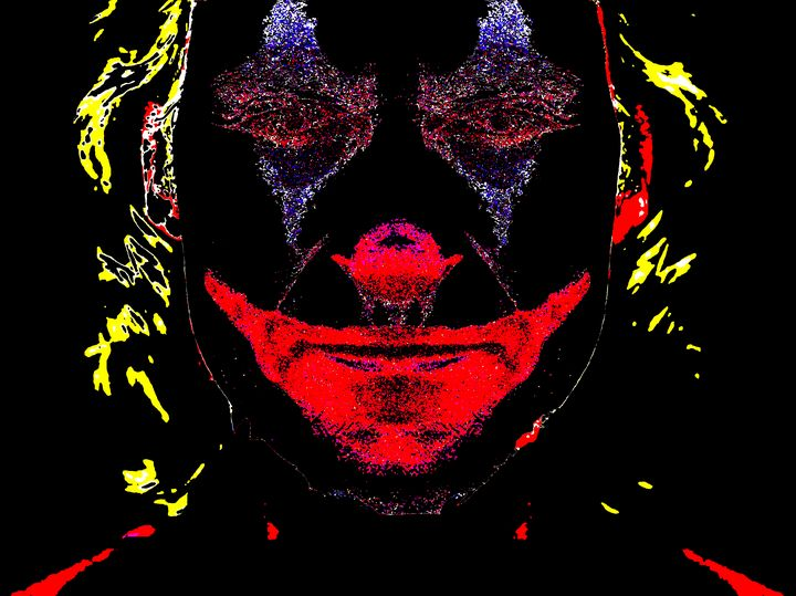 Joker Black background - tarama chabot