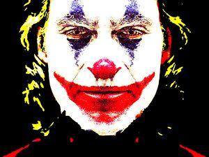 Joker  white face - tarama chabot
