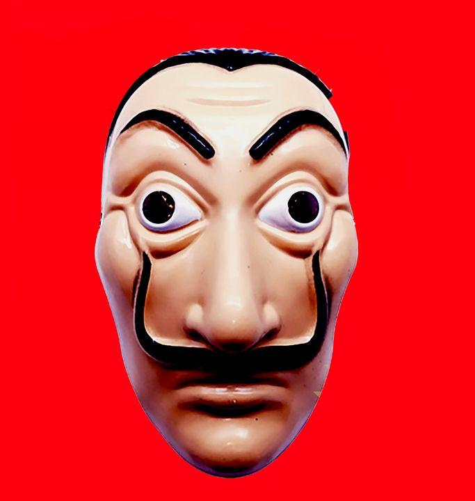Dali mask La casa de papel  red - tarama chabot