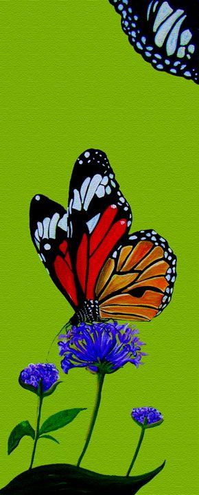 African Butterfly - Elizabeth Dalley