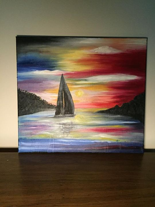 Sailing into the sunset - Marija