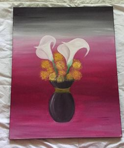 Flower in the Ombre
