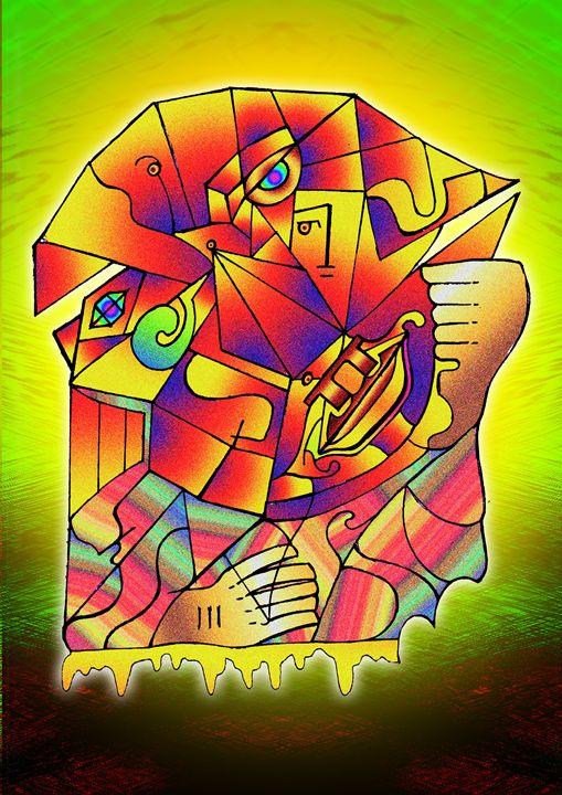 cubist meltdown - Sublimely Surreal