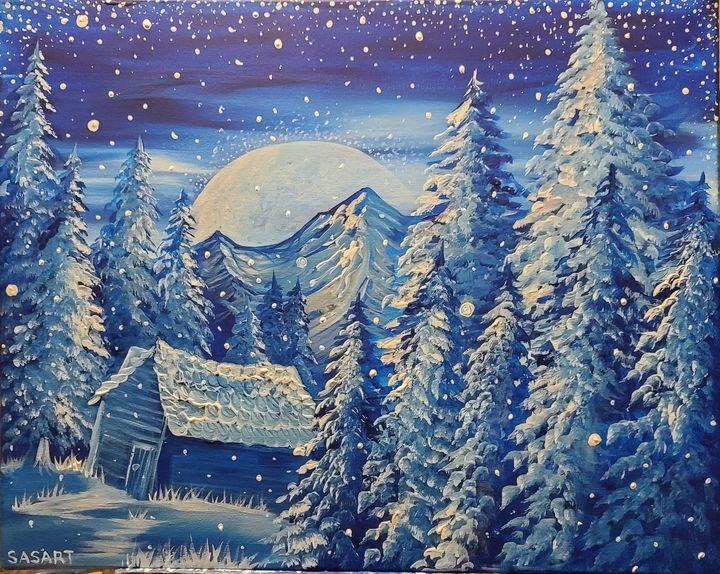 Winter Wonderland - SASART custom designs by Savannah Severin