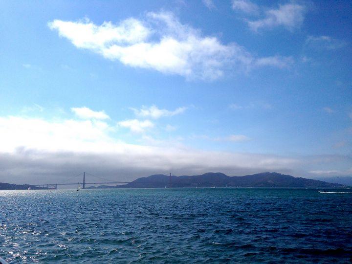 San Francisco Bay - Art by Julia