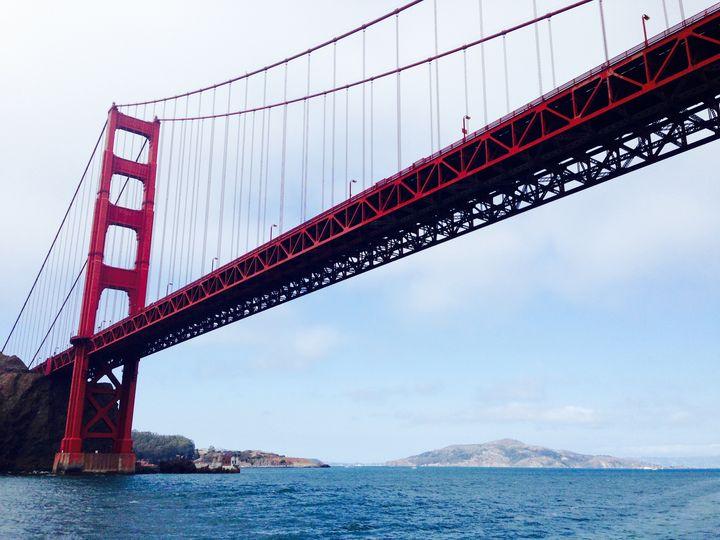 Golden Gate Bridge, San Francisco - Art by Julia