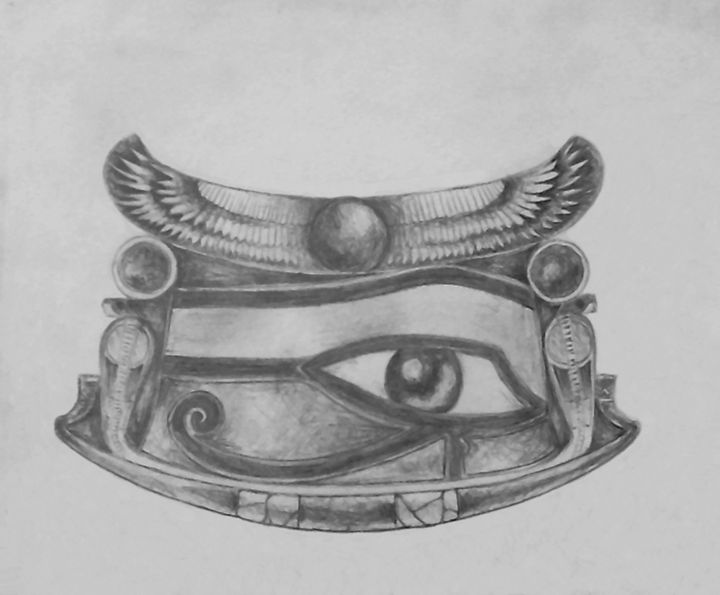 Ancient Egyptian Eye - Secretly Arty