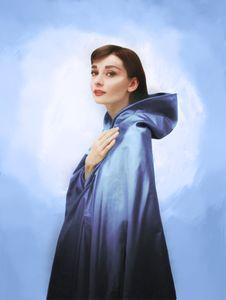 Audrey in Sapphire