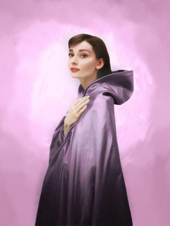 Audrey in Amethyst - Aly M