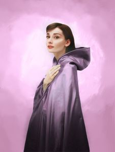 Audrey in Amethyst