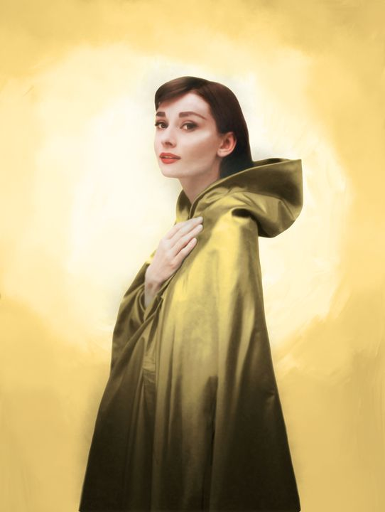 Audrey in Citrine - Aly M