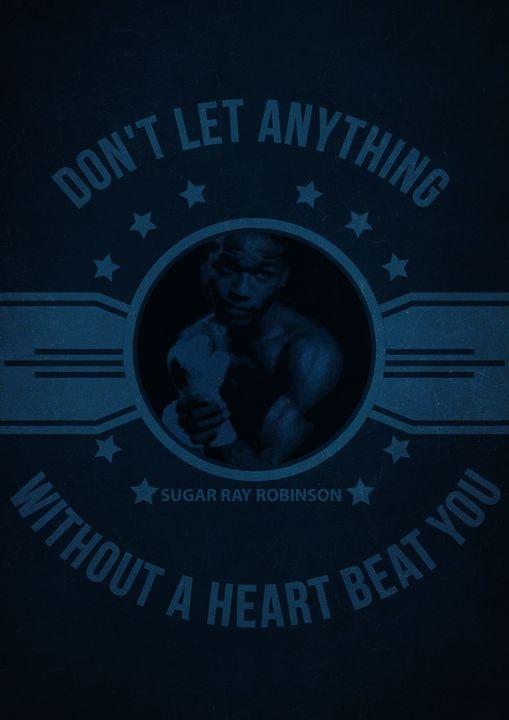 Sugar Ray Robinson Quote - Print_shop