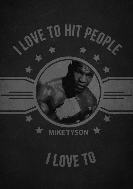 Mike Tyson  Quote - Print_shop