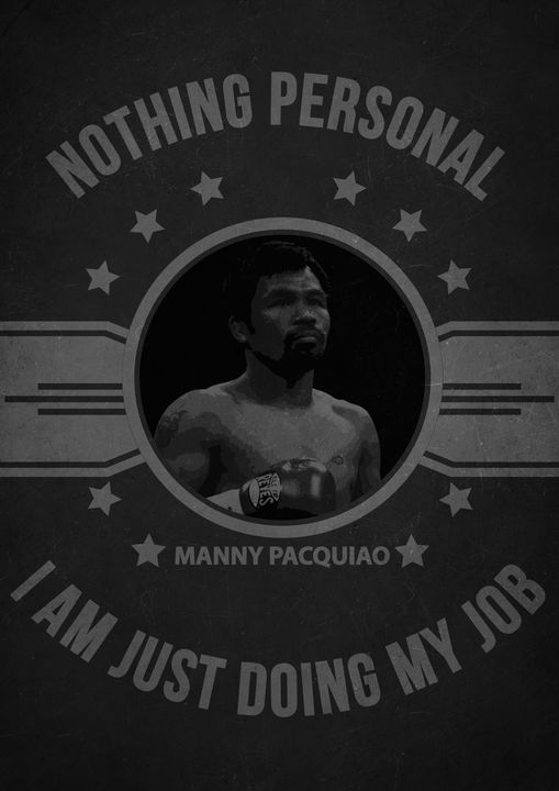 Manny Pacquiao Quote - Print_shop