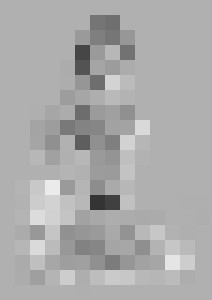 """Light"" Nude print"