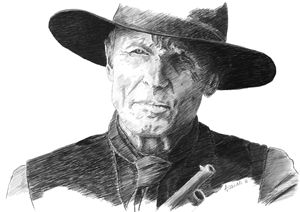 Ed Harris aka William portrait