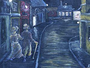 Evening Stroll - Cynthia Sjoberg